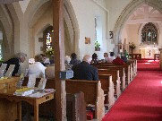 Worship at Great Alne Church